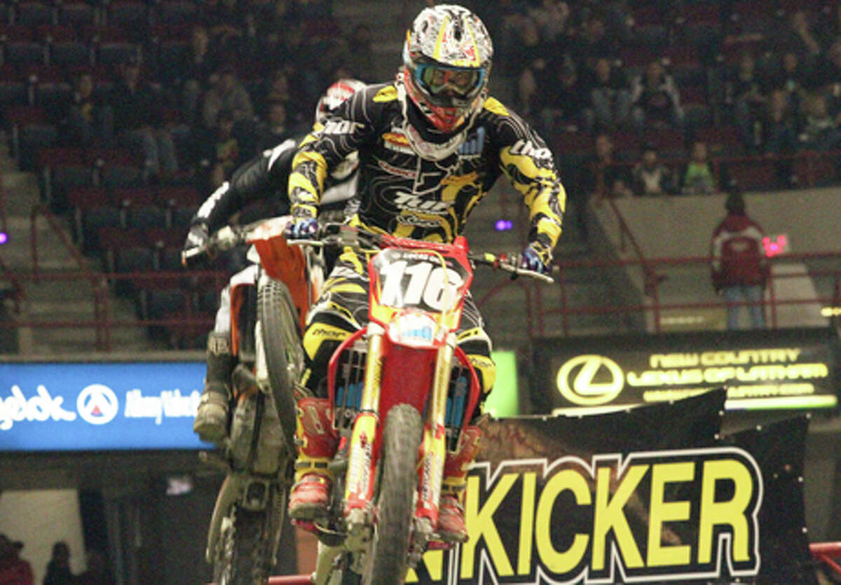 It's back! Kicker Arenacross & Freestyle Motocross Show.When: Saturday, 7:30 p.m. Where: Times Union Center.Learn More.