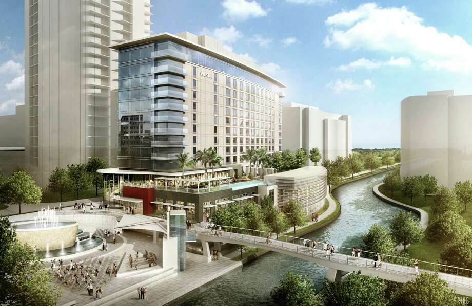 Work is underway on the Westin hotel in The Woodlands, which is scheduled to open at the end of 2015.