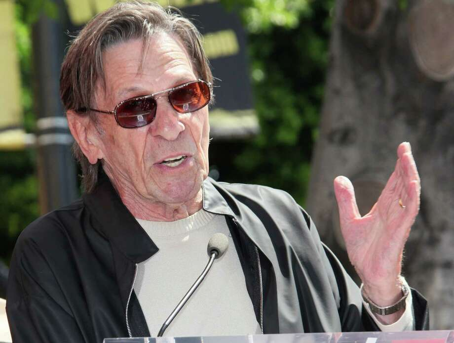 HOLLYWOOD, CA - SEPTEMBER 10: Actor Leonard Nimoy attends Walter Koenig being honored with a star on the Hollywood Walk of Fame on September 10, 2012 in Hollywood, California. Photo: David Livingston, Getty Images / 2012 Getty Images