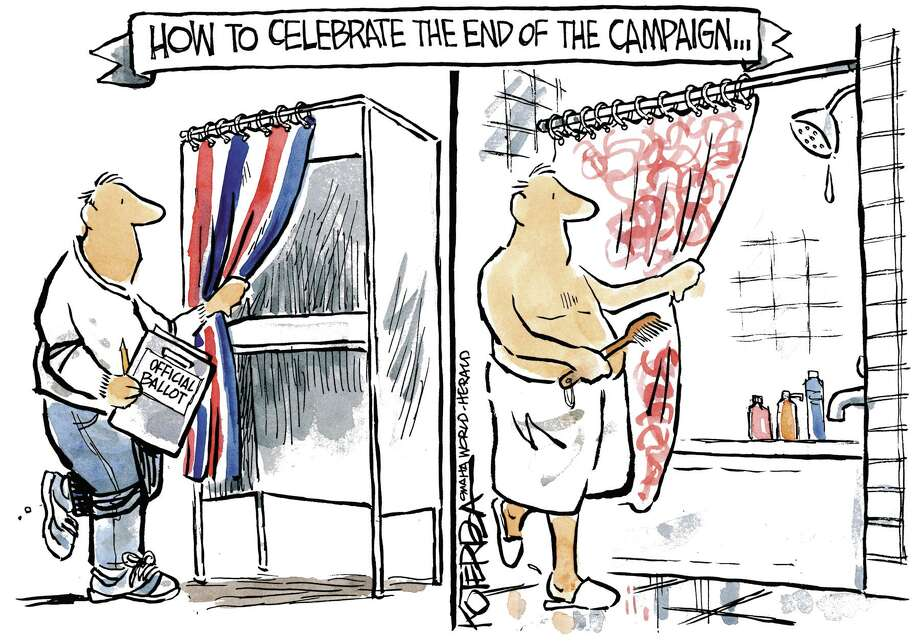 Jeff Koterba cartoon for November 4, 2014