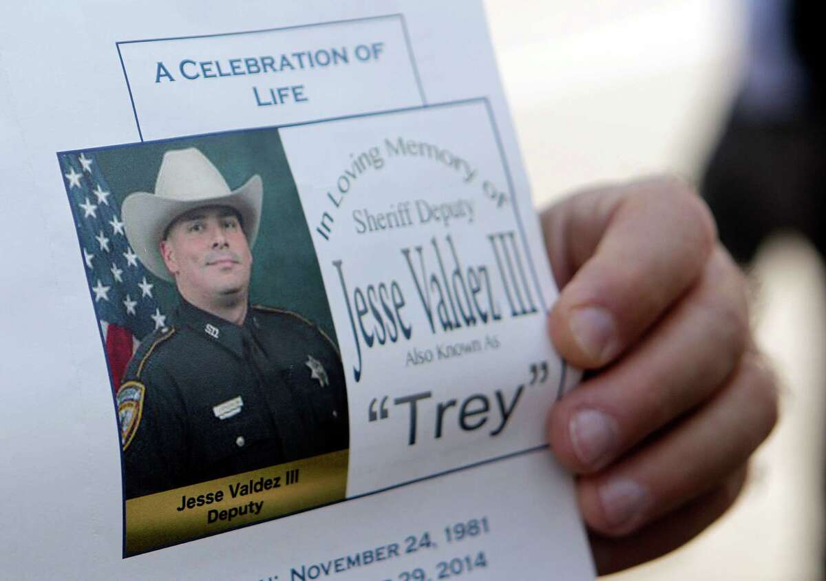 Funeral mass was held today for fallen Sheriff's Office Deputy Jesse