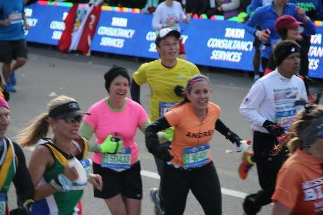Guilderland mom runs marathon to teach her daughters about goals - ReBath of Albany