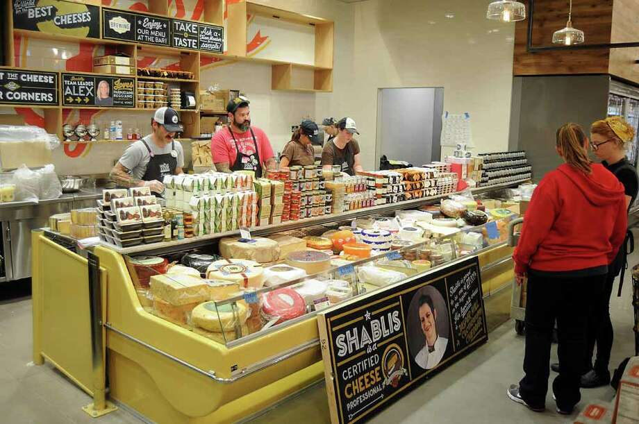 The cheese shop at the new Whole Foods store Photo: Dave Rossman, For The Houston Chronicle / © 2014 Dave Rossman