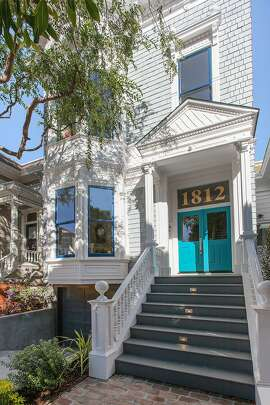 1812 Lyon St. is a five-bedroom Victorian dating back to 1900.