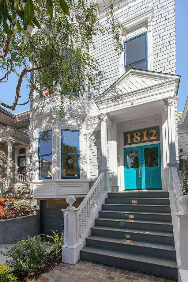 1812 Lyon St. is a five-bedroom Victorian dating back to 1900.Check out more Pac Heights listings » Photo: Open Homes Photography