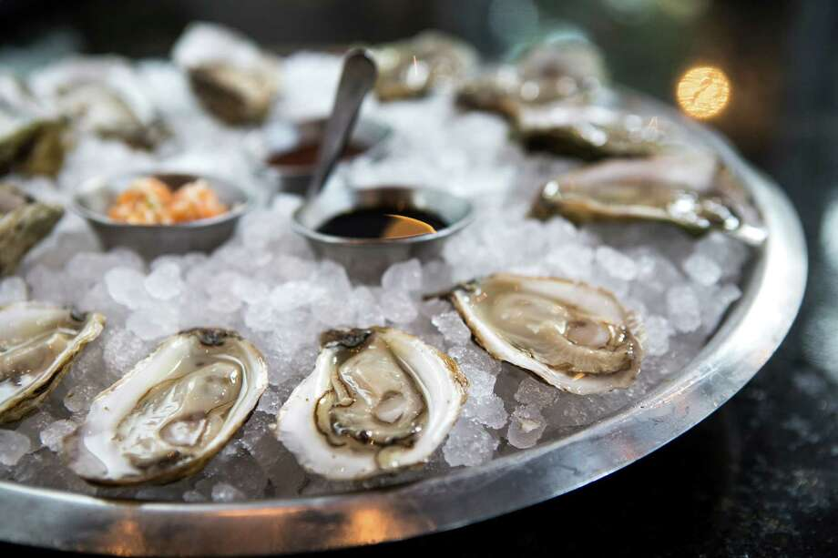 Holley's Seafood Restaurant & Oyster Bar★ ★ - Find out which dish Cook says is 'pure genius,' while another crashed under the weight of its own creativity.3201 Louisiana; (713) 491-2222Hours: L: 11 a.m.-2 p.m. Mondays-Fridays; D: 5:30-10 p.m. Mondays-Thursdays; 5:30-11 p.m. Fridays-SaturdaysCredit cards: all majorPrices: starters & smaller plates $7-$18; entrees $27-$48; desserts $10Reservations: suggested for dining room; walk-ins welcome in Oyster BarNoise level: moderateWebsite: holleyshouston.com Photo: Brett Coomer, Staff / © 2014 Houston Chronicle