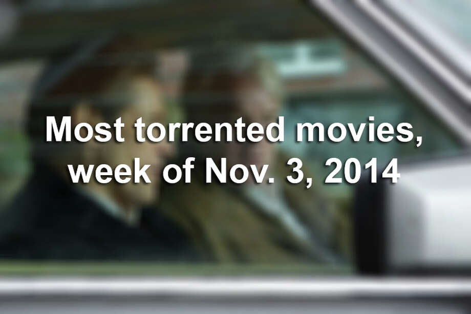 These are the most illegally downloaded movies for the week of Nov. 3, 2014, according to Torrent Freak.Scroll through to see which movies are the most pirated. Photo: Kerry Brown, File