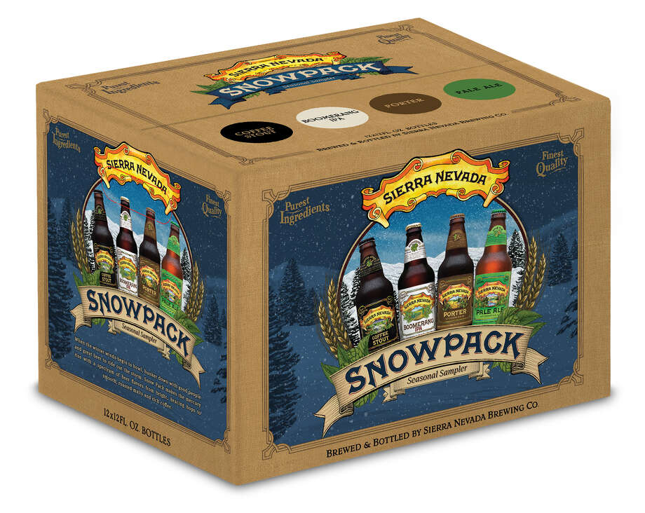 The new Snowpack features two new beers and and two classics from Sierra Nevada Brewing Co. Photo: Sierra Nevada Brewing Co.