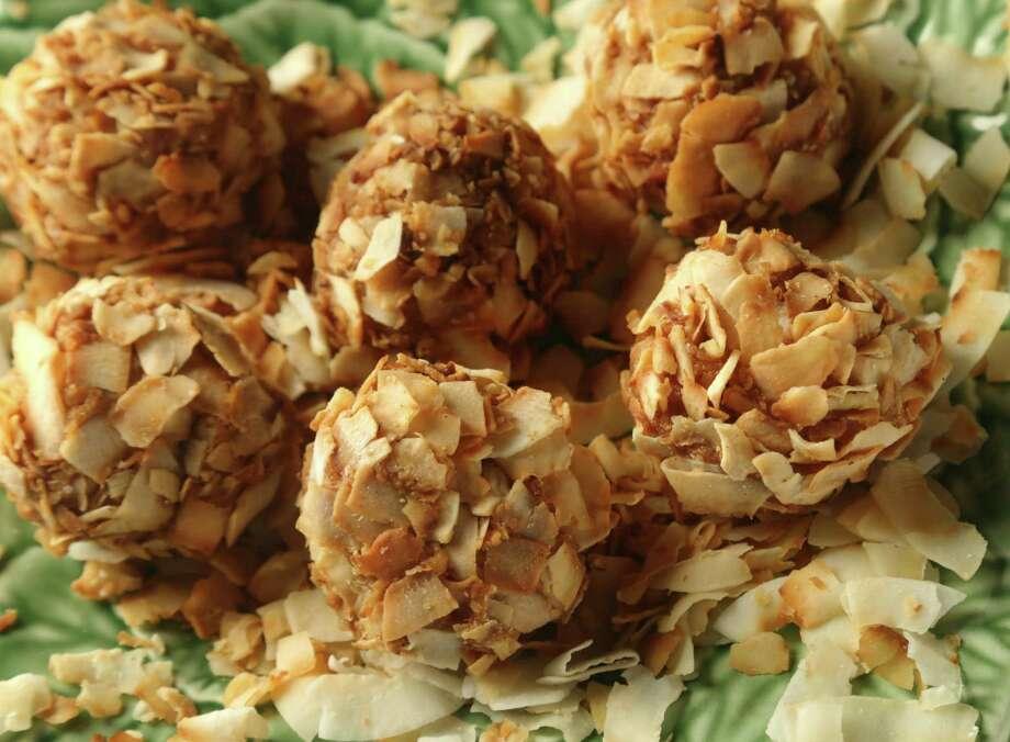 Sweet Potato Pie Truffles' sweetness is balanced with cinnamon and ginger. Photo: Billy Smith II, Staff / © 2014 Houston Chronicle