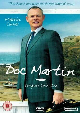 'Doc Martin Series 6'- Crippled by a sudden and inconvenient fear of blood, flashy surgeon Dr. Martin Ellingham abandons his bustling London practice and sets up shop as a country doctor in this medically minded British sitcom. Available Nov. 15. Photo: Handout