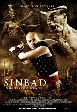 'Sinbad: The Fifth Voyage'- When an evil sorcerer captures the sultan's first-born daughter, the fearless sailor Sinbad must traverse a hostile wasteland to bring her back. Danger lurks around every dune in the form of fantastical creatures and sinister magic. Available Nov. 15 Photo: Handout
