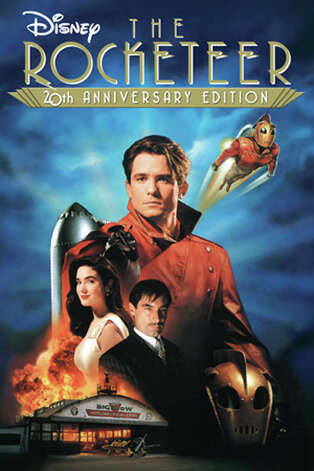 'The Rocketeer' - In this stylish action-adventure, a stunt pilot stumbles across an experimental Nazi jet pack that transforms him into a one-man air force -- and soon becomes a target for mobsters, spies, FBI agents and millionaire Howard Hughes. Available Nov. 1 Photo: Handout