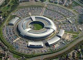 "This is an undated image of GCHQ in Cheltenham England released by British Government on Tuesday Nov. 4. 2014.  U.S.-based social media have become ""command-and-control networks"" for terrorists and criminals, and tech companies are in denial about their misuse, the new head of Britain's electronic eavesdropping agency said. Writing in Tuesday's Financial Times, GCHQ chief Robert Hannigan said British intelligence agencies know that IS extremists use messaging services like Facebook, Twitter and WhatsApp to reach their peers with ease. He said spy agencies need to have greater support from the U.S. technology companies which dominate the Web in order to fight militants and those who host material about violent extremism and child exploitation  (AP Photo/British Government)"