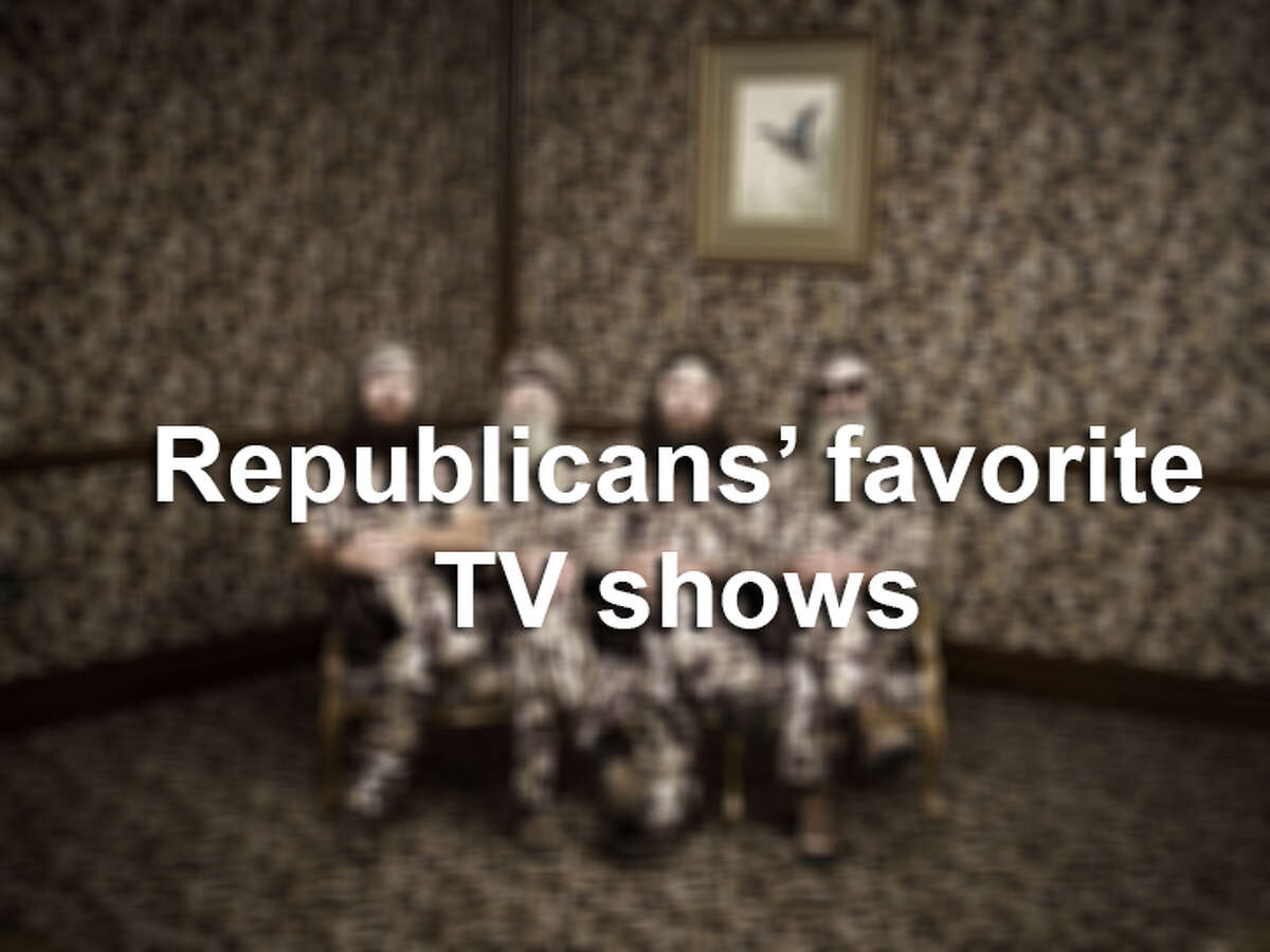 Click through the photos to see Republicans' favorite shows, according to Entertainment Weekly and Experian.