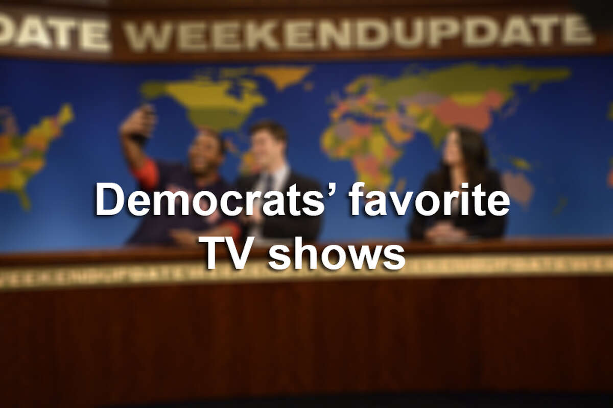 Click through the photos to see Democrats' favorite shows, according to Entertainment Weekly and Experian.