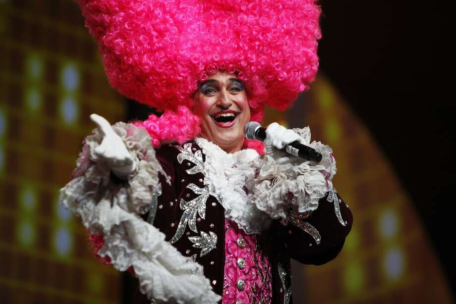 "King Louis, one of ""Beach Blanket Babylon's"" behatted characters. Photo: Pete Kiehart, The Chronicle"