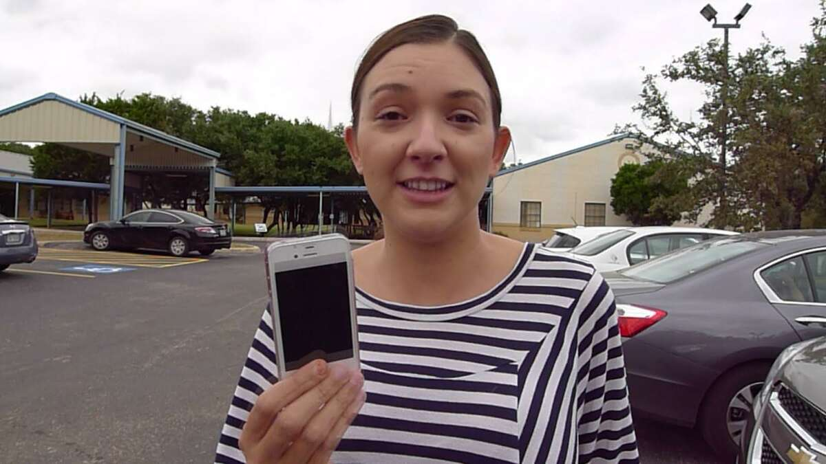 Jade Stanford, a Bexar voter, said the ballot she tried to cast did not have Greg Abbott on the governor's page.