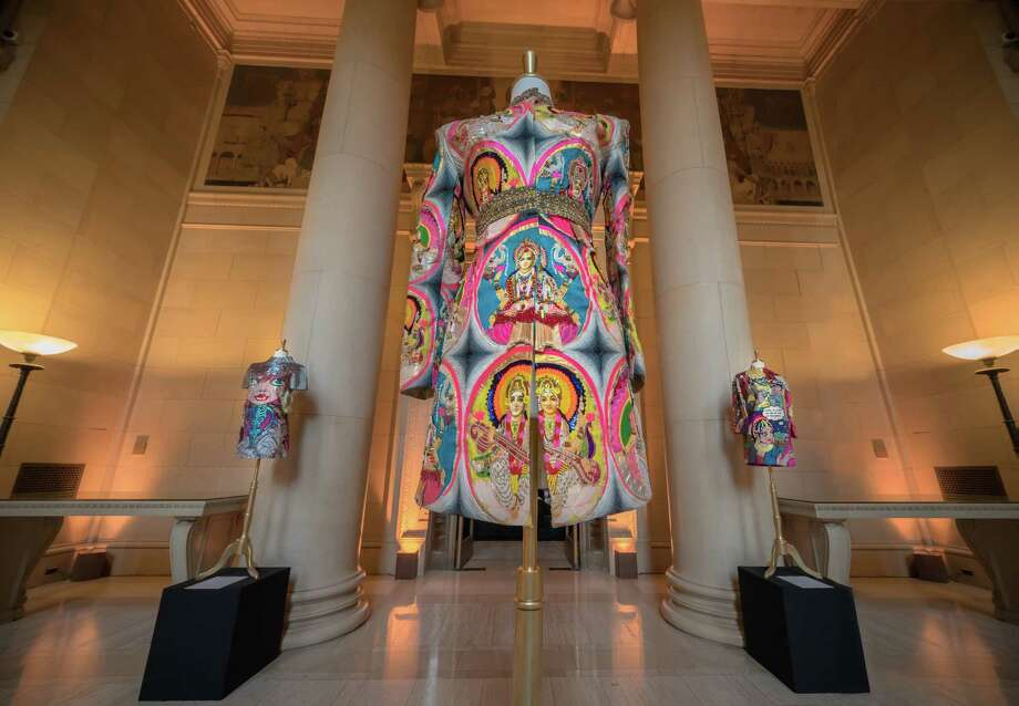 Indian fashion designer Manish Arora's work was on display at the Bently Reserve, where the Arts of Fashion show took place. Photo: R. Linnik / ONLINE_YES