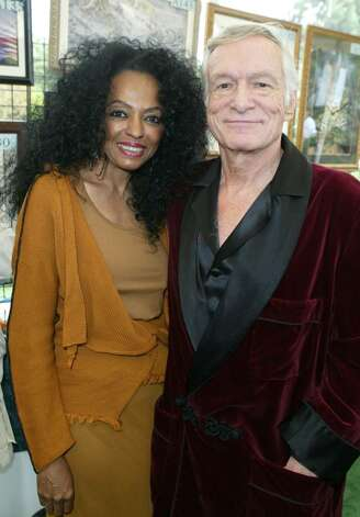 BEVERLY HILLS, CA - OCTOBER 16:  Singer Diana Ross and Hugh Hefner are seen inside at the 10th Annual Safari Brunch on October 16, 2004 at the Playboy Mansion in Beverly Hills, California. (Photo by Frazer Harrison/Getty Images) Photo: Frazer Harrison, Getty Images / 2004 Getty Images