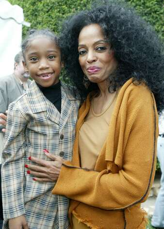 BEVERLY HILLS, CA - OCTOBER 16:  Singer Jamia Simone Nash and singer Diana Ross are seen inside at the 10th Annual Safari Brunch on October 16, 2004 at the Playboy Mansion in Beverly Hills, California.  (Photo by Frazer Harrison/Getty Images) Photo: Frazer Harrison, Getty Images / 2004 Getty Images