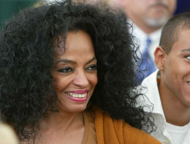 BEVERLY HILLS, CA - OCTOBER 16:  Singer Diana Ross is seen inside at the 10th Annual Safari Brunch on October 16, 2004 at the Playboy Mansion in Beverly Hills, California.  (Photo by Frazer Harrison/Getty Images) Photo: Frazer Harrison, Getty Images / 2004 Getty Images