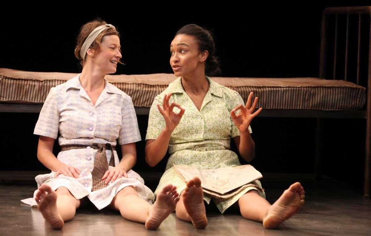 Dee (Jessi Campbell, left) and Jamie (Tristan Cunningham) forge a friendship in