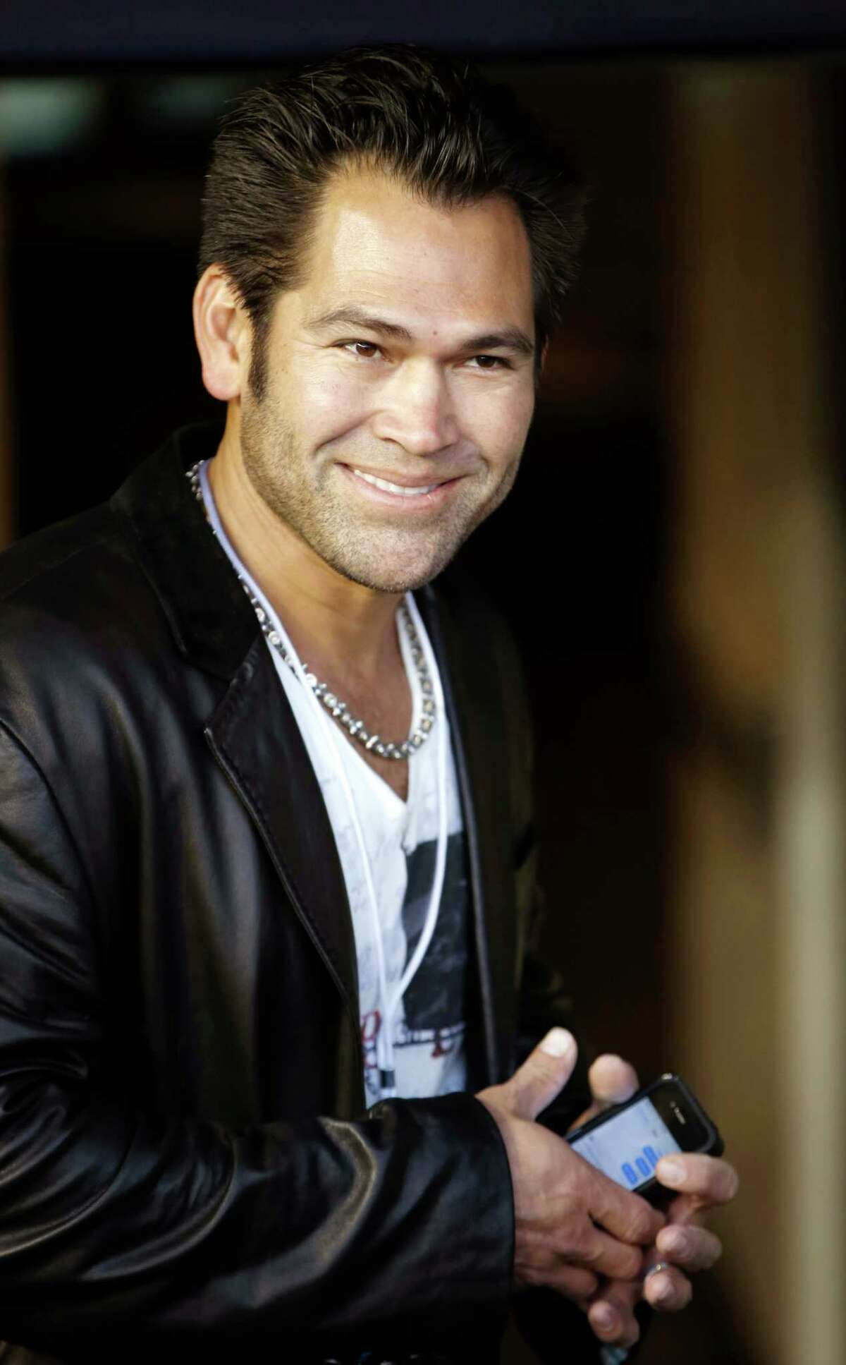 Former Boston Red Sox and New York Yankees player Johnny Damon.