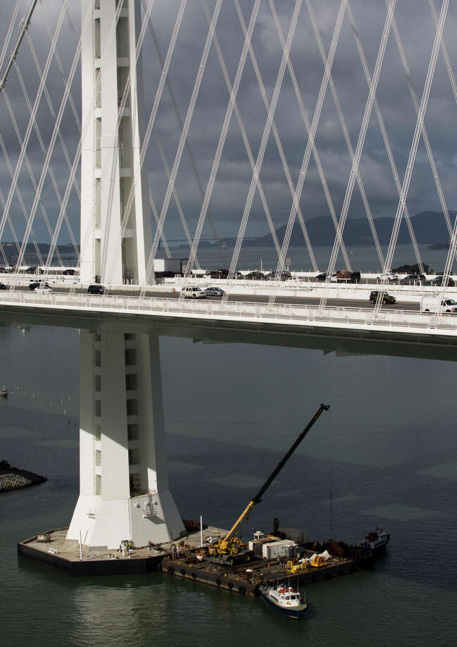 The Bay Bridge is seen on Sept. 25, 2014. Photo: TIM HUSSIN / Special To The Chronicle / ONLINE_YES