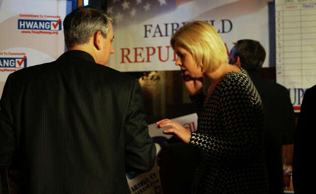 Republicans won big in Fairfield Tuesday night. Photo: Genevieve Reilly / Fairfield Citizen