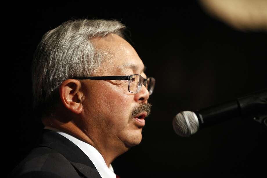 San Francisco Mayor Ed Lee. Photo: Pete Kiehart, The Chronicle