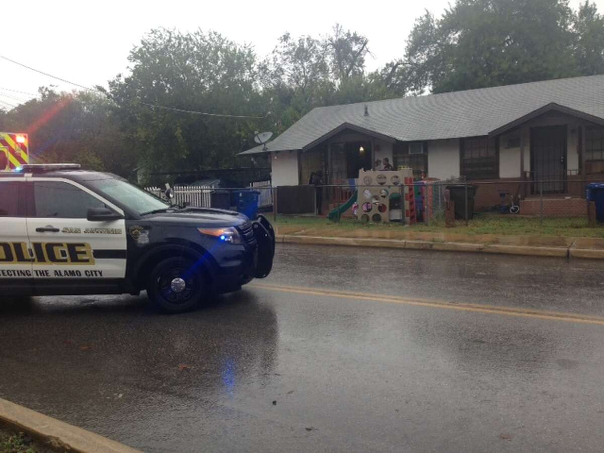 San Antonio police are currently responding to a shooting on the South Side.
