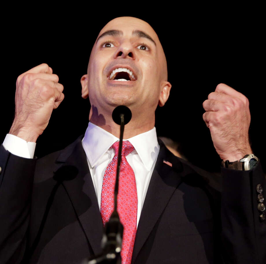 Despite pretending to be homeless and starring in a controversial campaign ad, gubernatorial candidate Neel Kashkari received a lot less attention than Ebola. Photo: Chris Carlson / Associated Press / AP