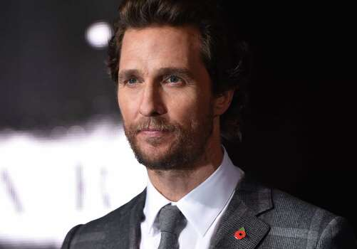 Actor Matthew McConaughey  Photo: LEON NEAL, Staff / AFP