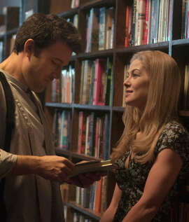 """Gone Girl,"" with Ben Affleck and Rosamund Pike."