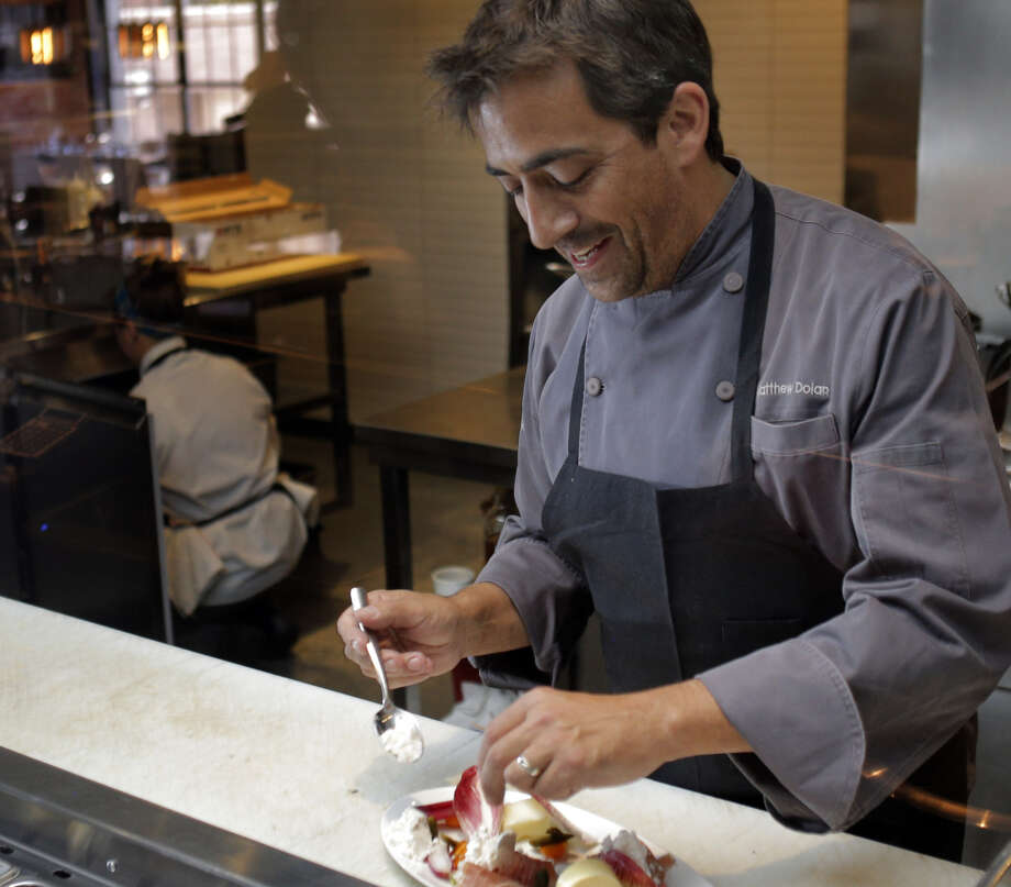 Chef Matthew is opening Tap (415) restaurant and bar at Westfield San Francisco Centre. Photo: Carlos Avila Gonzalez / The Chronicle / ONLINE_YES