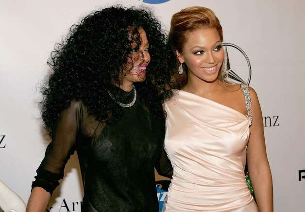 BEVERLY HILLS, CA - OCTOBER 23:   Singers Diana Ross and Beyonce Knowles during the cocktail reception at the 16th Carousel of Hope presented by Mercedes-Benz benefiting the Barbara Davis Center for Childhood Diabetes at the Beverly Hilton Hotel October 23, 2004 in Beverly Hills, California.  (Photo by Frank Micelotta/Getty Images)  *** Local Caption *** Diana Ross;Beyonce Knowles Photo: Frank Micelotta, Getty Images / 2004 Getty Images