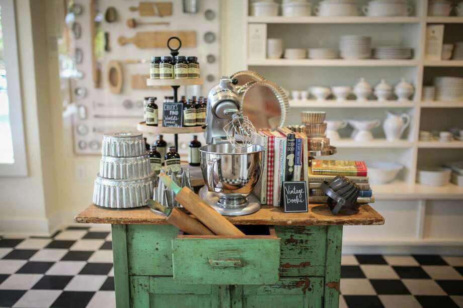 The recently opened Williams-Sonoma store near Sonoma Plaza features vintage items as well as cutting-edge gadgets. Photo: Sam Wolson / Special To The Chronicle / ONLINE_YES