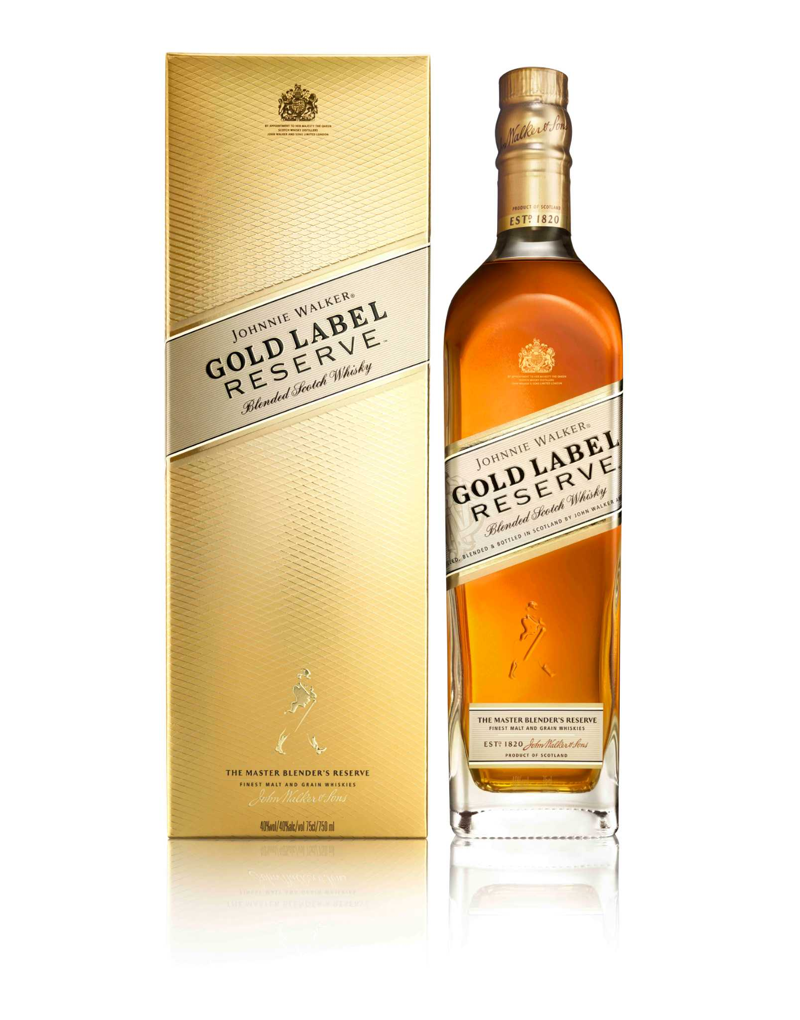 Johnny Walker Gold Label Reserve Is Our New Gilt Trip