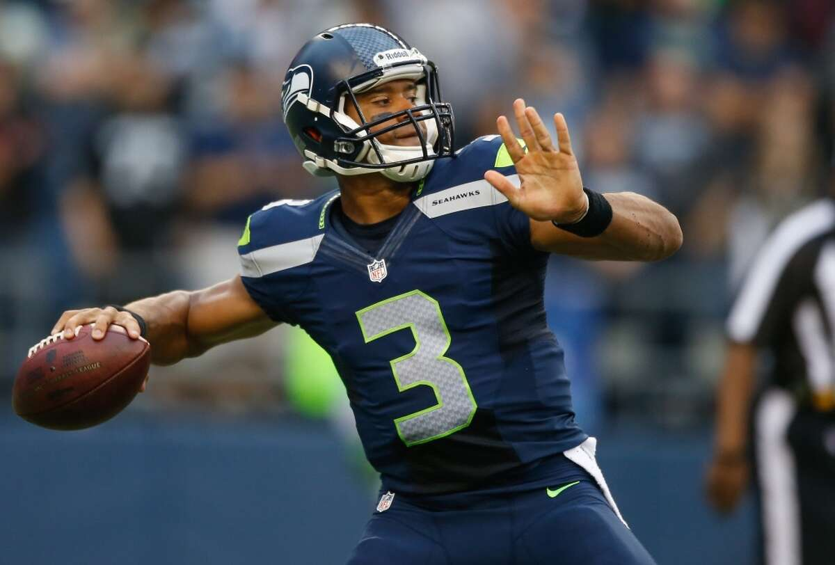 Seattle Seahawks Quarterback, Russell Wilson Washington State, Idaho, Nevada, New Mexico Source: Dick's Sporting Goods