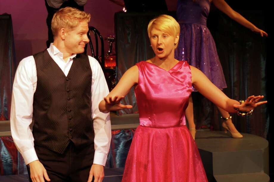 """Aaron Young and Melissa Carlile-Price perform a Kander and Ebb number in the revue """"The World Goes Round"""" which is at the new Music Theatre of Connecticut venue in Norwalk through Nov. 23. Photo: Contributed Photo / Connecticut Post Contributed"""