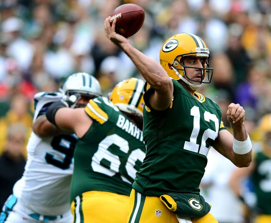 Aaron Rodgers is having a great year. We haven't seen it. Photo: Jeff Siner, McClatchy-Tribune News Service