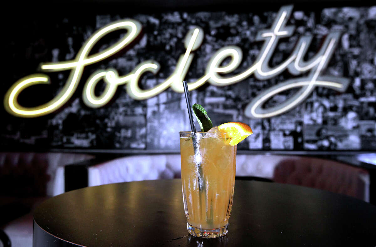 St. James Infirmary offers a wide array of drinks, including a Pimm's cup, at the Midtown Reno location.