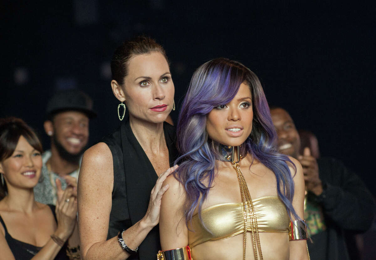 """A fierce stage mom (Minnie Driver, left) sees her British pop star daughter (Gugu Mbatha-Raw) on the verge of U.S. fame when the singer meets a handsome young cop in """"Beyond the Lights."""""""
