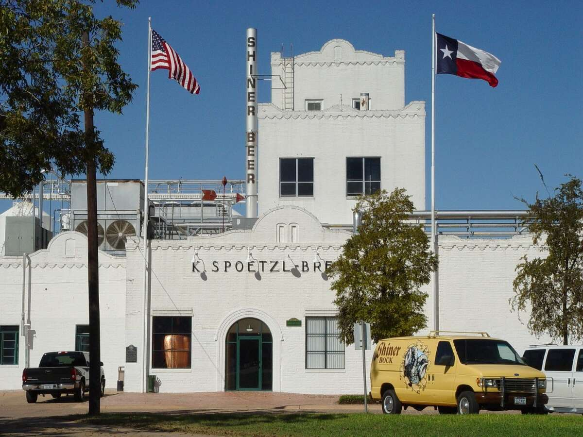 Shiner Travel down to the town named after the iconic beer of Texas. Enjoy a tour of the historic brewery and samples of the company's different beer flavors.
