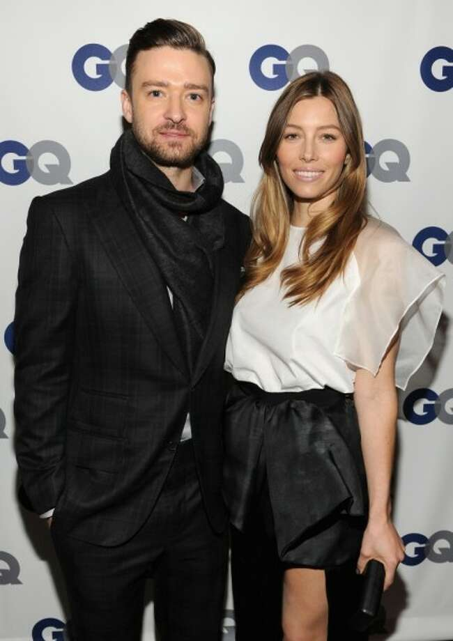 Justin Timberlake and Jessica BielKid's name: Silas Randall