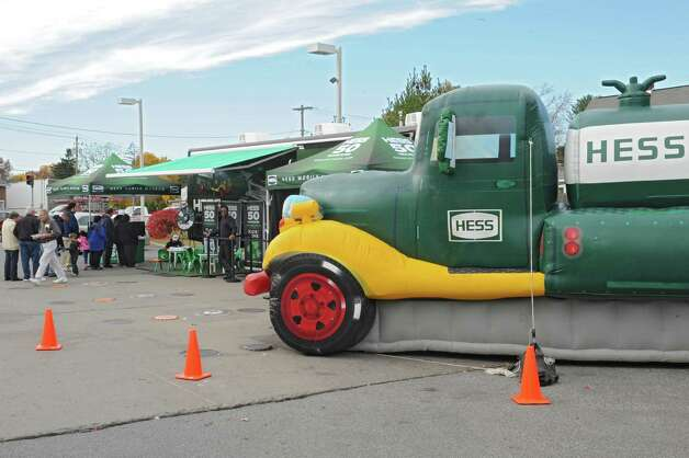 Hess celebrates the 50th anniversary of the Hess Toy Truck with a first-ever Mobile Museum at the Hess Express on Wednesday, Nov. 5, 2014 in Rotterdam, N.Y. (Lori Van Buren / Times Union) Photo: Lori Van Buren / 00029304A