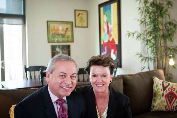 Pat and Don Guter have rented an apartment in downtown's One Park Place for the past five years. When they moved to town, relocating from Pittsburgh and other big cities before that, they were surprised to find so few for-sale residential options in the city center. Thursday, Oct. 30, 2014, in Houston. ( Marie D. De Jesus / Houston Chronicle )