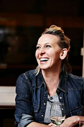 "Lunch with chef and ""Prune"" author Gabrielle Hamilton on Monday at Grange at Healdsburg SHED."