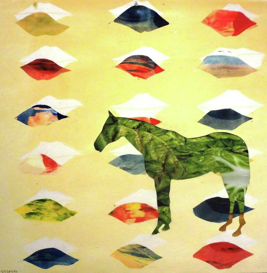 """Richard Mogas' """"Horse Love B."""" Photo: Photo By Steve Bennett"""