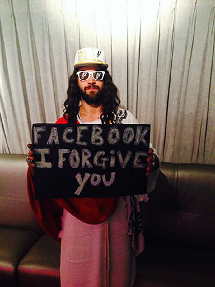 Spurs Jesus shares a message of peace and forgiveness to for a social media site. Photo: Courtesy Photo.